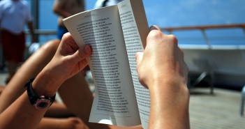 Reading on a cruise