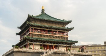 xian bell tower china