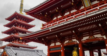 senso-ji temple in japan
