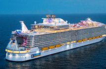 exterior view of Royal Caribbean Symphony of the Seas cruise ship