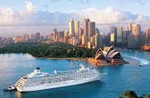 Sydney Cruise Harbour Port Opera Cruise Ship