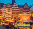 Christmas market in Frankfurt Germany