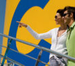 couple on Costa Cruises ship