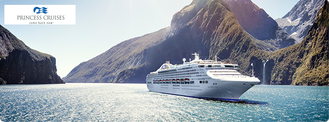 Sea princess cruise ship deals for Around the world cruise ship